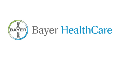 Logo from one of iData Research's custom medical market research clients, Bayer Healthcare