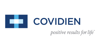 Logo from one of iData Research's custom medical market research clients, Covidien, which is now a part of Medtronic