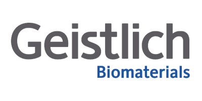 Logo from one of iData Research's custom medical market research clients, Geistlich Biomaterials