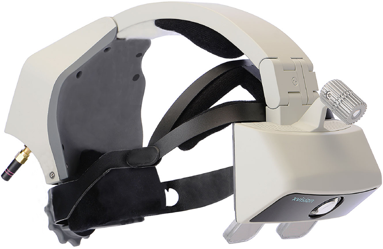 Augmedics's AR surgical guidance system XVision