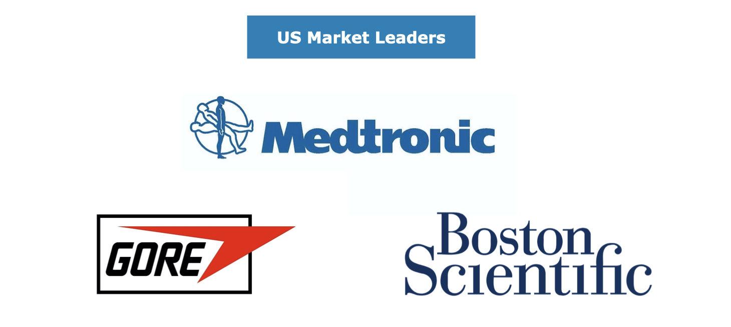 Peripheral Vascular Market Leaders