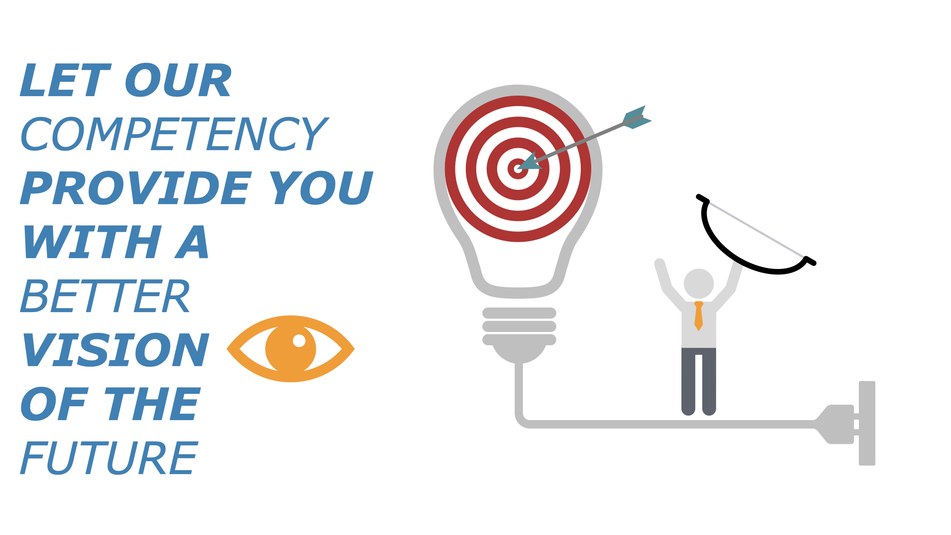 Let our competency provide you with a better vision of the future