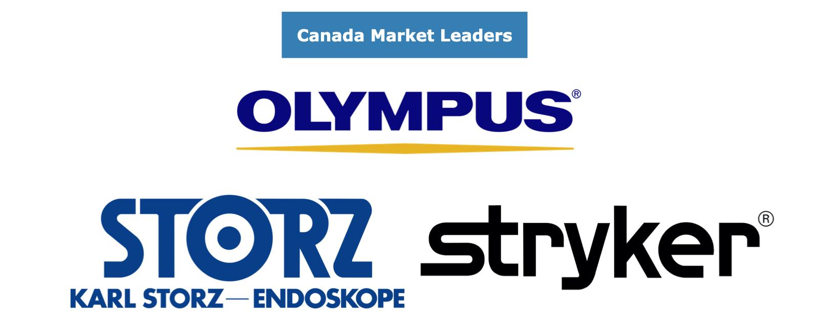 Canada Endoscope Market Share Leaders