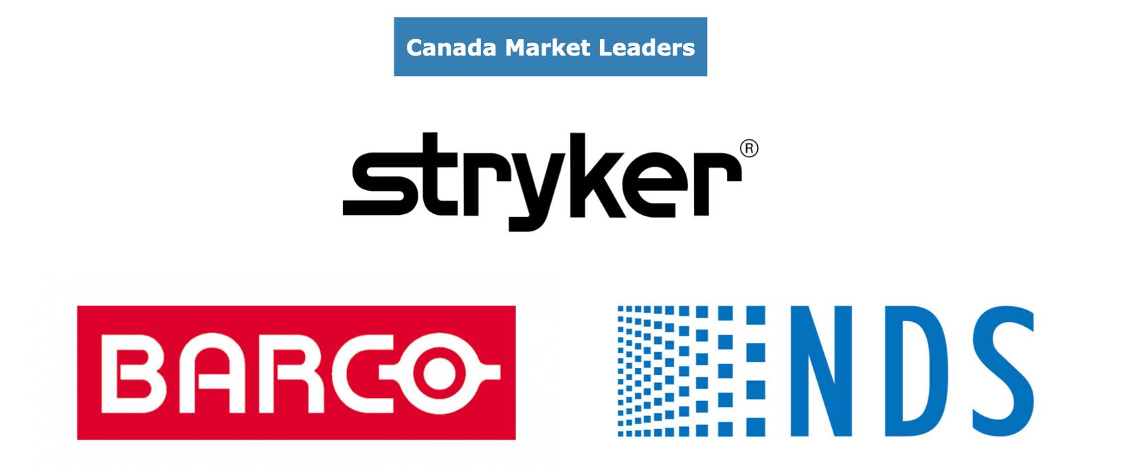 Canadian Video Endoscopy Market Share Leaders