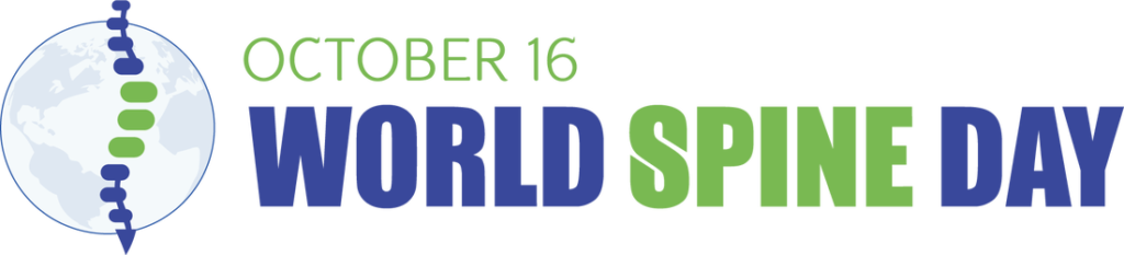 official world spine day banner